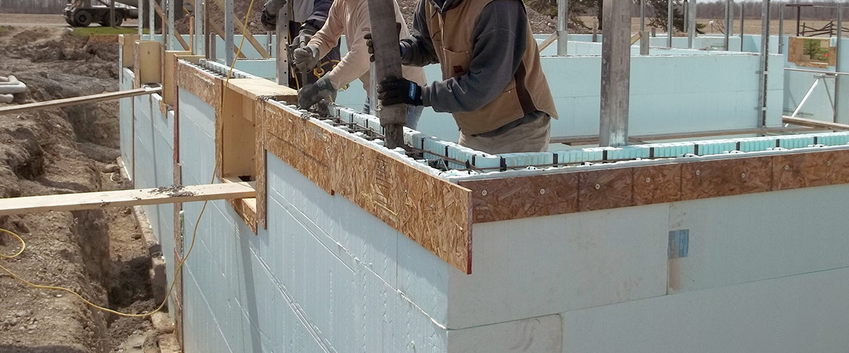 wall to wall icf construction